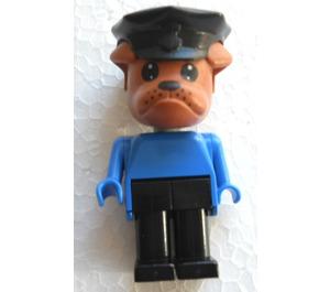 LEGO Bertie Bulldog with Police Hat Fabuland Figure