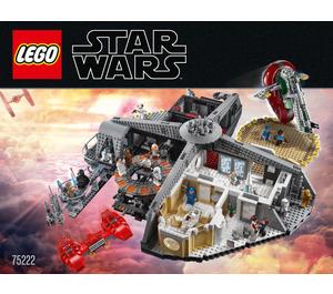 LEGO Betrayal at Cloud City Set 75222 Instructions