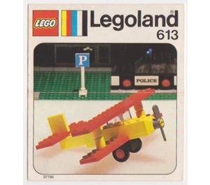 LEGO Bi-plane Set 613 Instructions