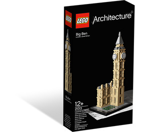 LEGO Big Ben Set 21013 Packaging