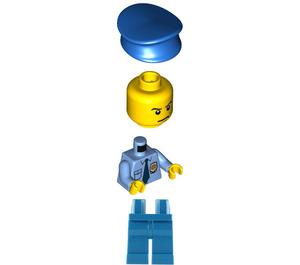 LEGO Big Escape Motorcycle Cop Minifigure