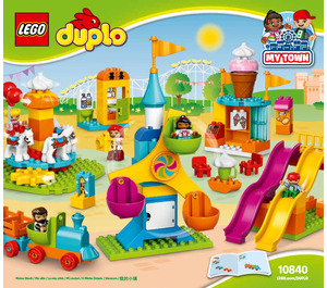 LEGO Big Fair Set 10840 Instructions