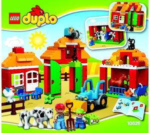 LEGO Big Farm Set 10525 Instructions