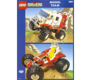 LEGO Big Foot 4 x 4 Set 5561