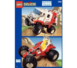 LEGO Big Foot 4 x 4 Set 5561 Instructions