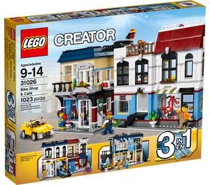 LEGO Bike Shop & Cafe Set 31026 Packaging