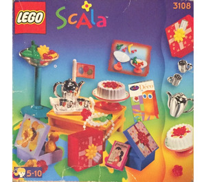 LEGO Birthday Accessories Set 3108