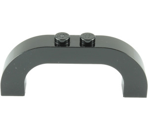LEGO Black Arch 1 x 6 x 2 with Curved Top (6183 / 24434)