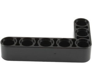 LEGO Black Beam Bent 90 degrees, 3 and 5 Holes (32526)