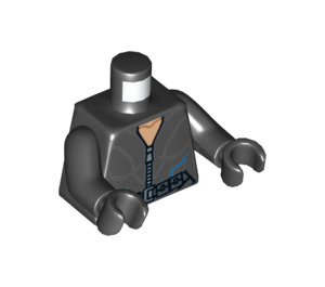 LEGO Black Black Widow Torso (76382)
