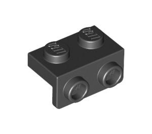 LEGO Black Bracket 1 x 2 - 1 x 2 (99781)