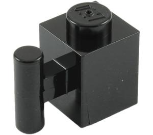 LEGO Black Brick 1 x 1 with Handle (2921 / 28917)