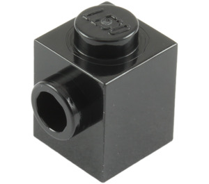 LEGO Black Brick 1 x 1 with Stud on One Side (87087)