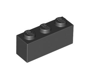 LEGO Black Brick 1 x 3 (3622)