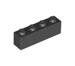 LEGO Black Brick 1 x 4 (3010)