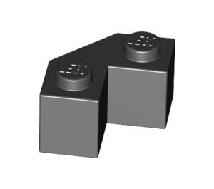 LEGO Black Brick 2 x 2 Facet (87620)