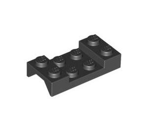 LEGO Black Car Mudguard 2 x 4 without Hole (3788)