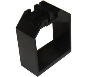 LEGO Black Container 4 x 2 x 4 with 2 Click Hinges (30637)