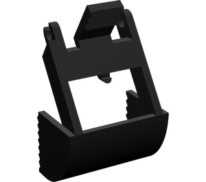 LEGO Black Crane Grab Jaw