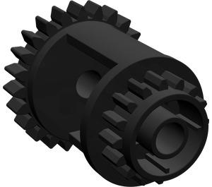 LEGO Black Differential Gear Casing