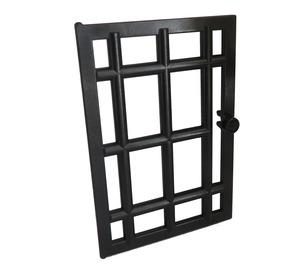LEGO Black Door 6 x 7 Barred (4611)