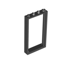 LEGO Black Door Frame 1 x 4 x 6 (Double Sided) (30179)