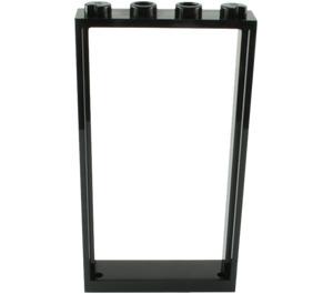 LEGO Black Door Frame 1 x 4 x 6 Single Sided (40289 / 60596)