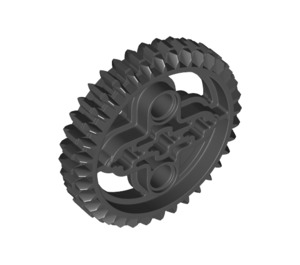 LEGO Black Double Bevel Gear with 36 Teeth (32498)