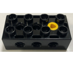 LEGO Black Duplo Toolo Brick 2 x 4 (76057)