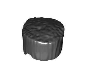 LEGO Black Flat Topped Hair (30608)