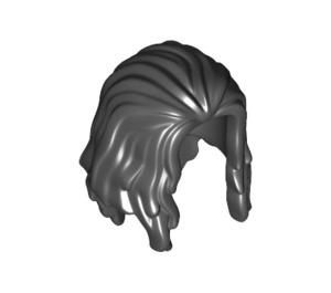 LEGO Black Long Minifig Hair (34316)