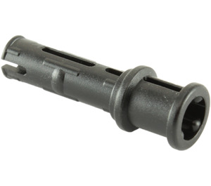 LEGO Black Long Pin with Friction and Bushing Attached (32054)