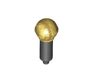 LEGO Black Microphone with Gold Top (20274 / 93520)