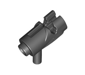 LEGO Black Mini Shooting Gun (15391)
