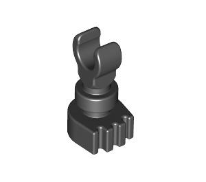 LEGO Black Minifig Skeleton Leg (6266 / 31733)