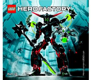 LEGO BLACK PHANTOM Set 6203 Instructions