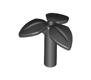 LEGO Black Plant with 3.2 Shaft 1.5 Hole (37695)