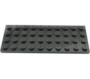 LEGO Black Plate 4 x 10 (3030)
