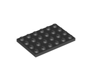 LEGO Black Plate 4 x 6 (3032)
