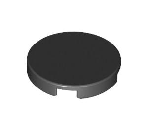 LEGO Black Round Tile 2 x 2 with Bottom Stud Holder (14769)