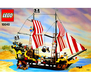 LEGO Black Seas Barracuda Set 10040 Instructions