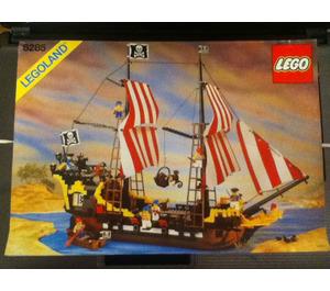 LEGO Black Seas Barracuda Set 6285 Instructions