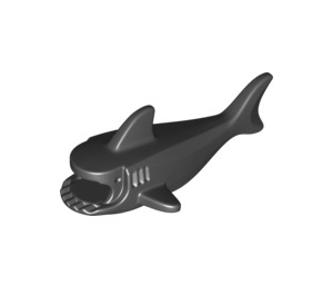 LEGO Black Shark Body with Gills (14518)