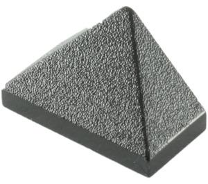 LEGO Black Slope 1 x 2 (45°) Triple with Inside Bar (3048)