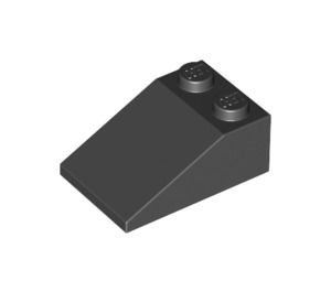 LEGO Black Slope 2 x 3 (25°) with Rough Surface (3298)