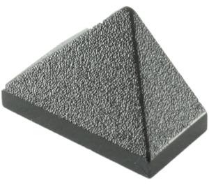 LEGO Black Slope 45° 1 x 2 Triple with Inside Bar (3048)