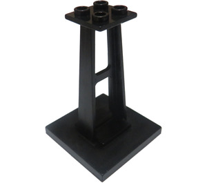 LEGO Black Support 4 x 4 x 5 Stanchion (2680)