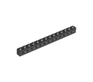 LEGO Black Technic Brick 1 x 14 with Holes (32018)