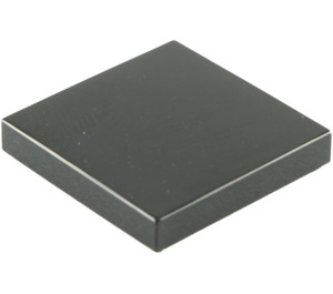 LEGO Black Tile 2 x 2 with Groove (3068)