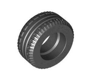 LEGO Black Tire Ø30.4 x 14 (Thick Rubber) (58090)